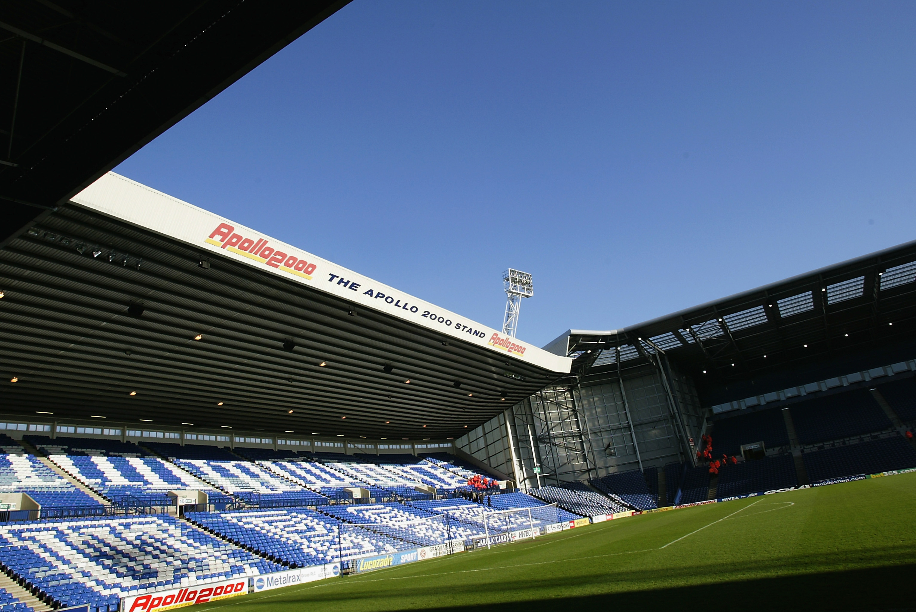 General view of The Hawthorns, home of West Bromwich Albion Football Club