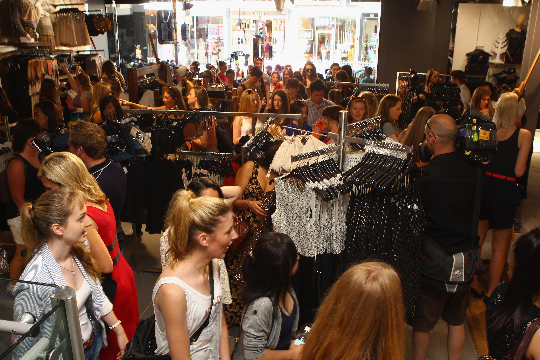Topshop Opens First Australian Store