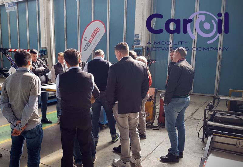 Caroil training mobility network daily mobility