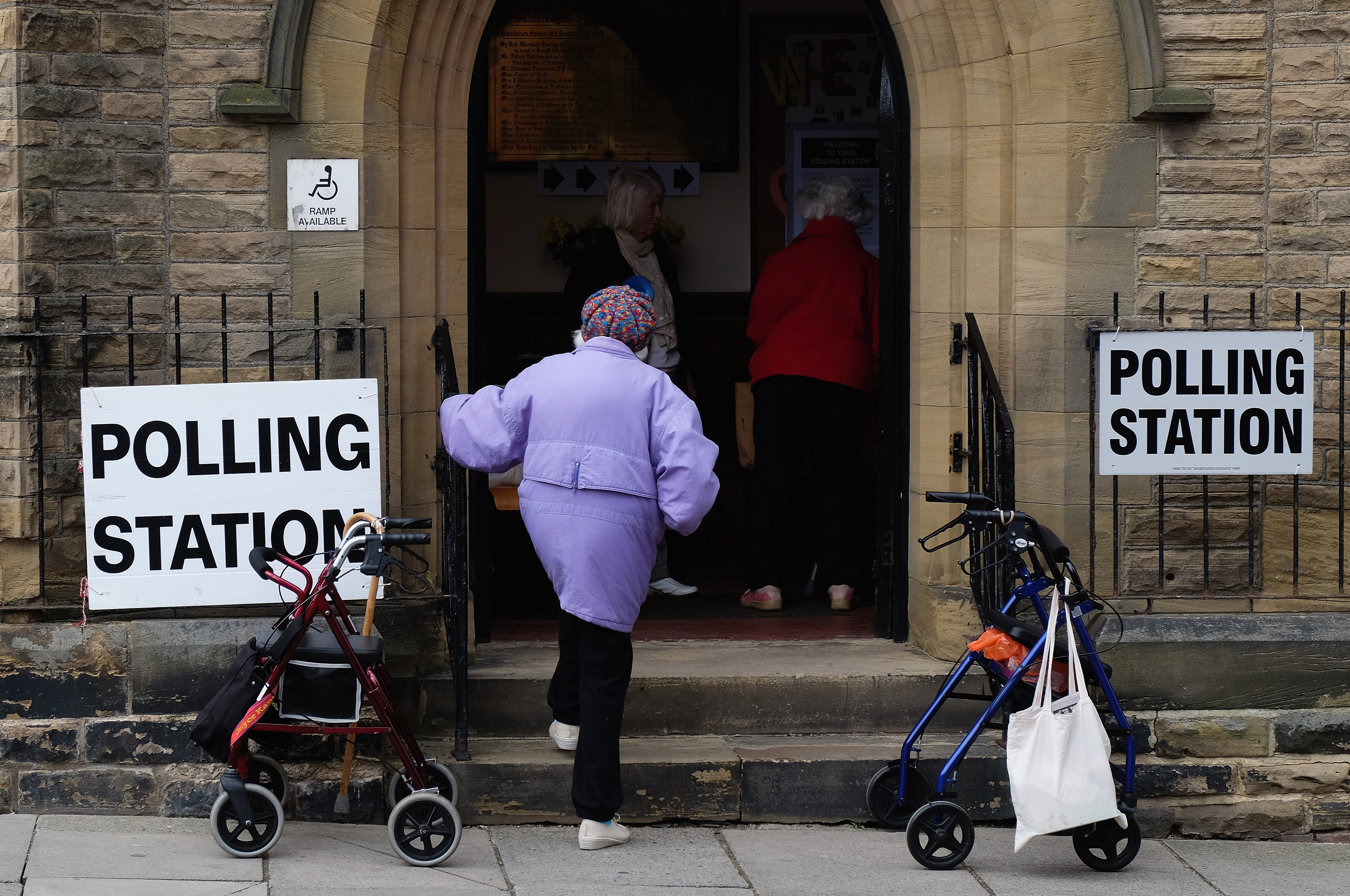 Polling Stations Across The UK