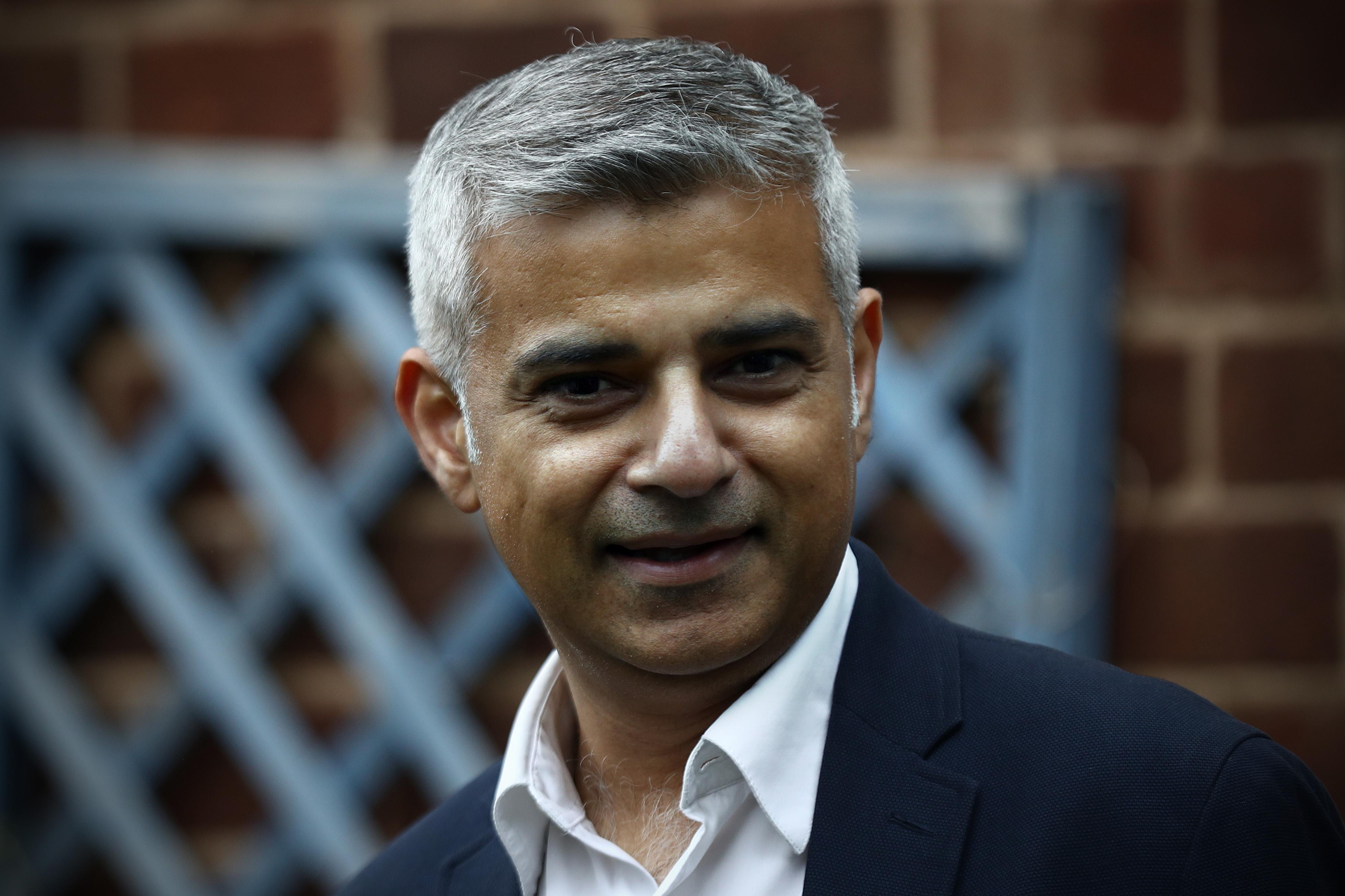 London Mayor Sadiq Khan Launches Volunteer Week