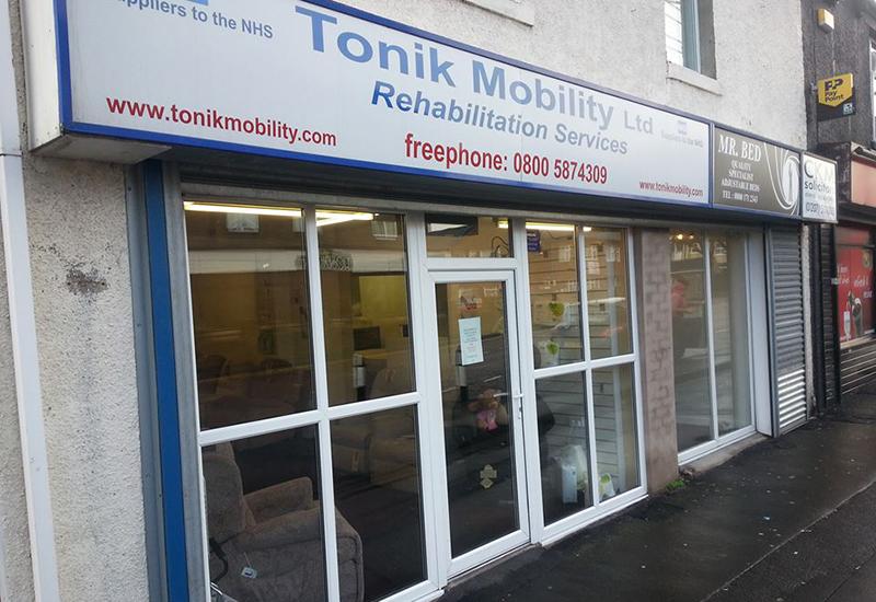 Tonik Mobility shop Consett