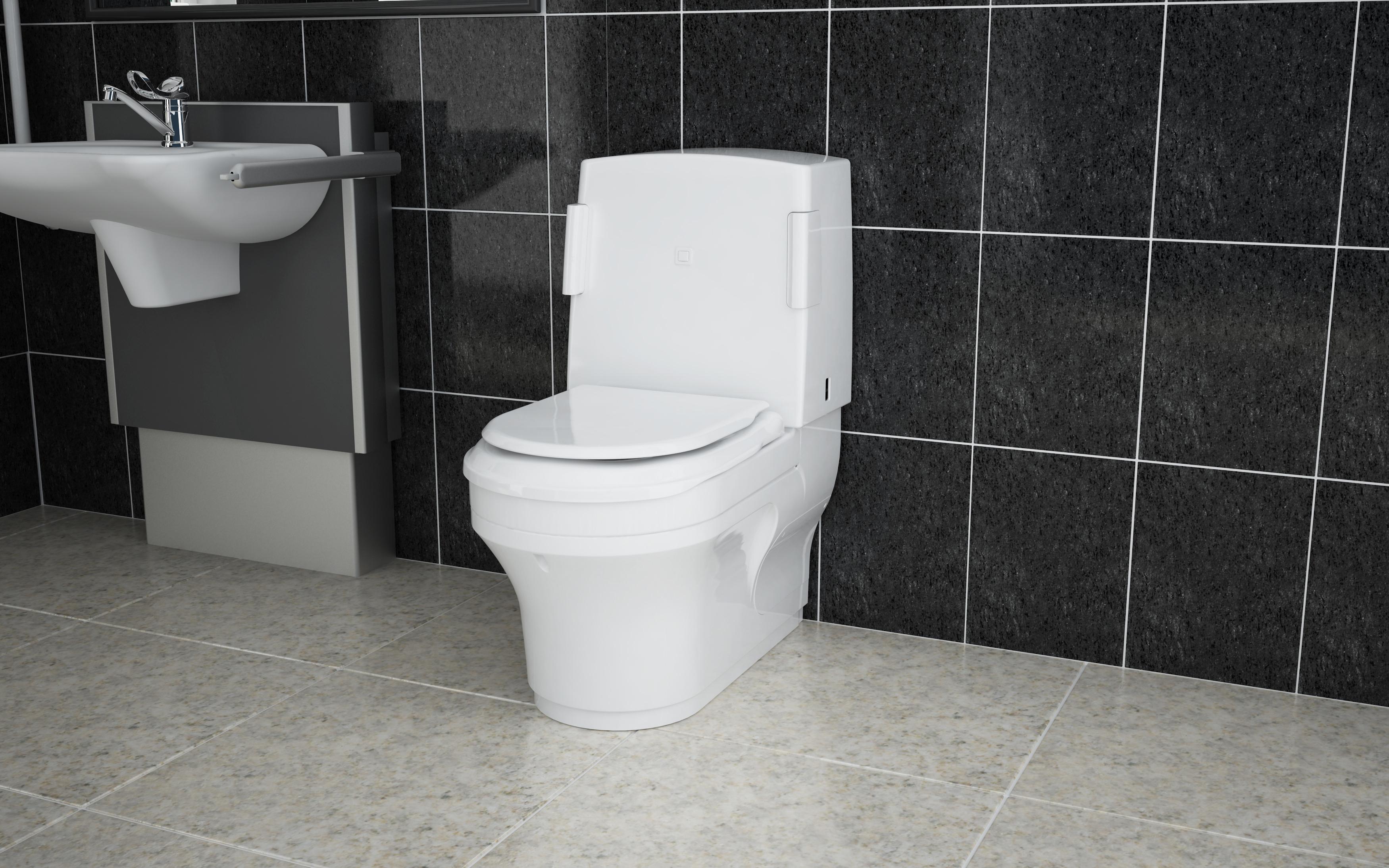 Vita wash and dry toilet Closomat