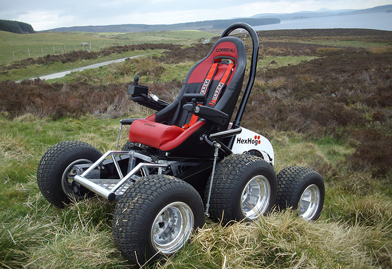 Hexhog all terrain wheelchair