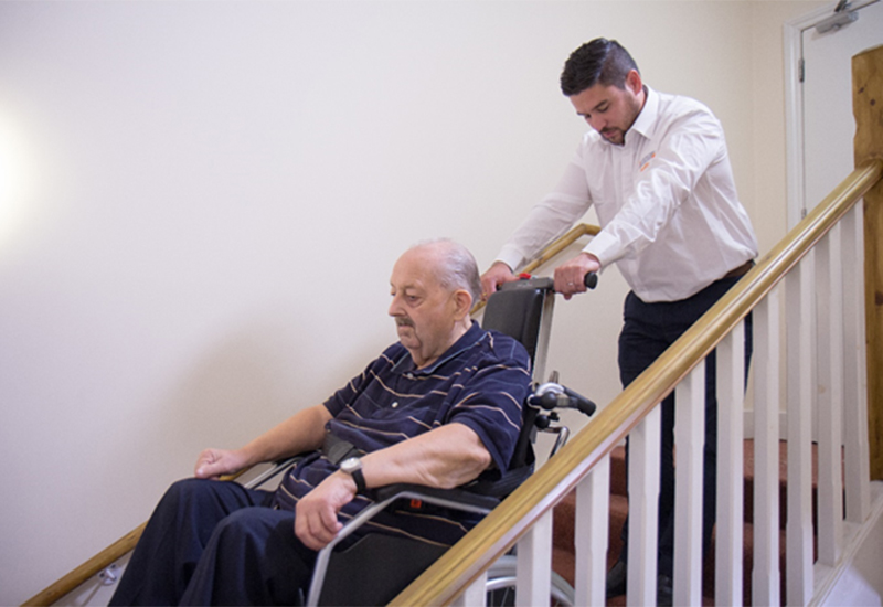 stanley mobility care home