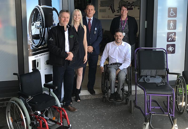 wheelAIR trial at EDI