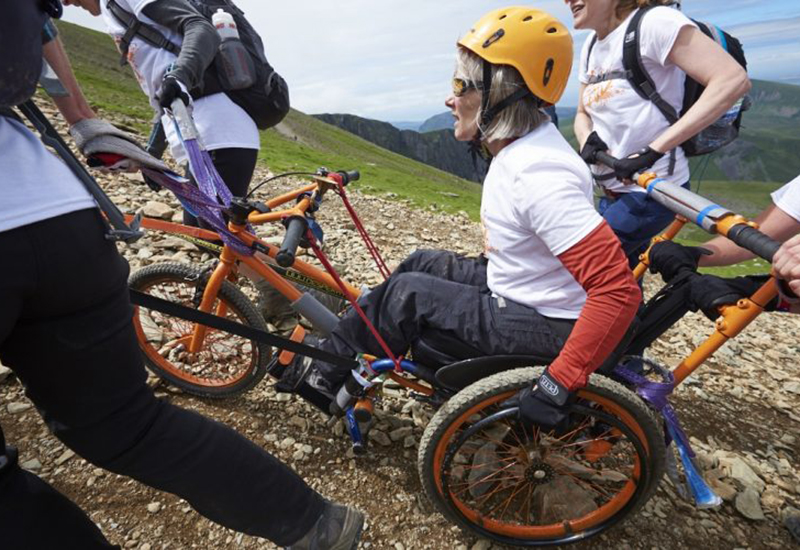 remap snowdon wheelchair