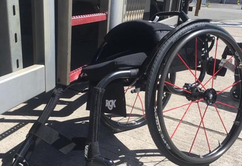 tracey llorca credit rgk wheelchair bristol airport