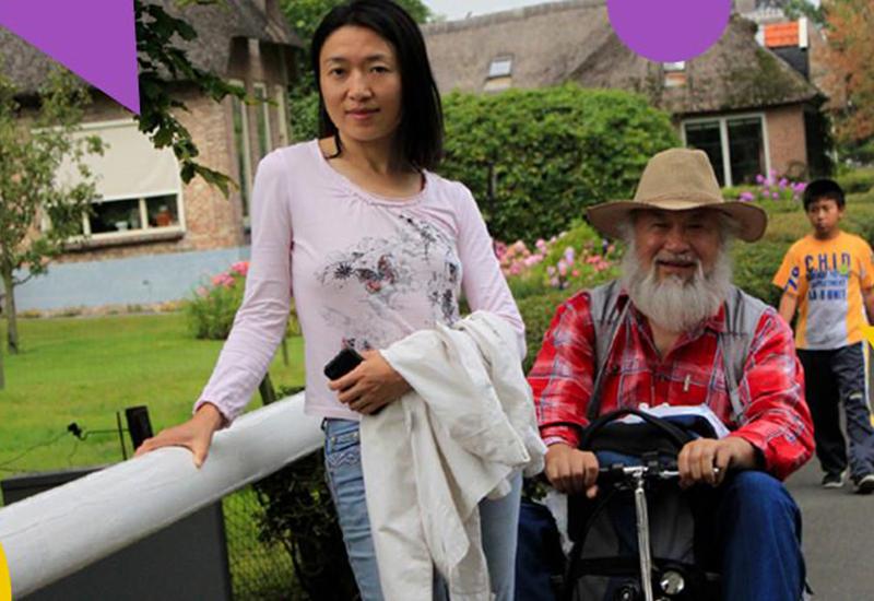 E-Foldi founders, Sumi Wang & her father Jianmin Wang