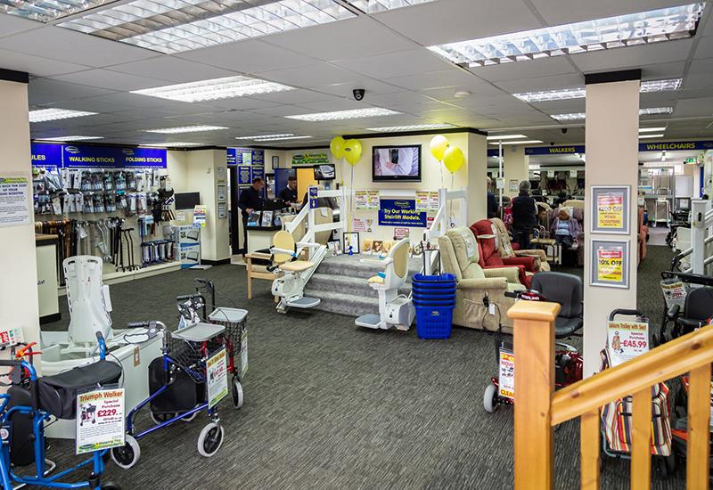 ableworld southampton showroom