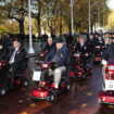 Blesma Remembrance 2018-supported by Electric Mobility