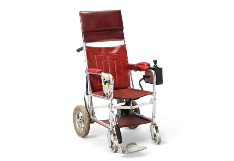 christie's stephen hawking wheelchair