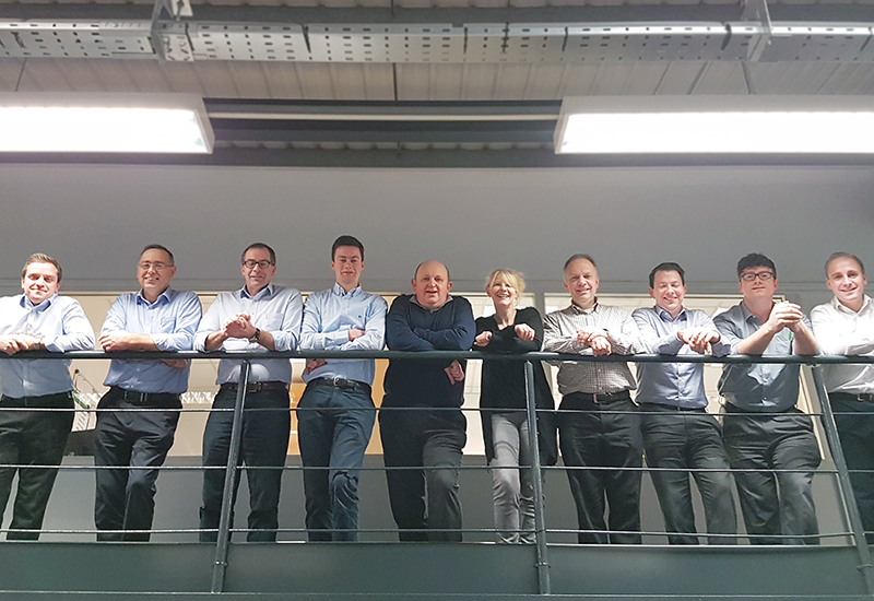 Some of the YCE team rising to new heights