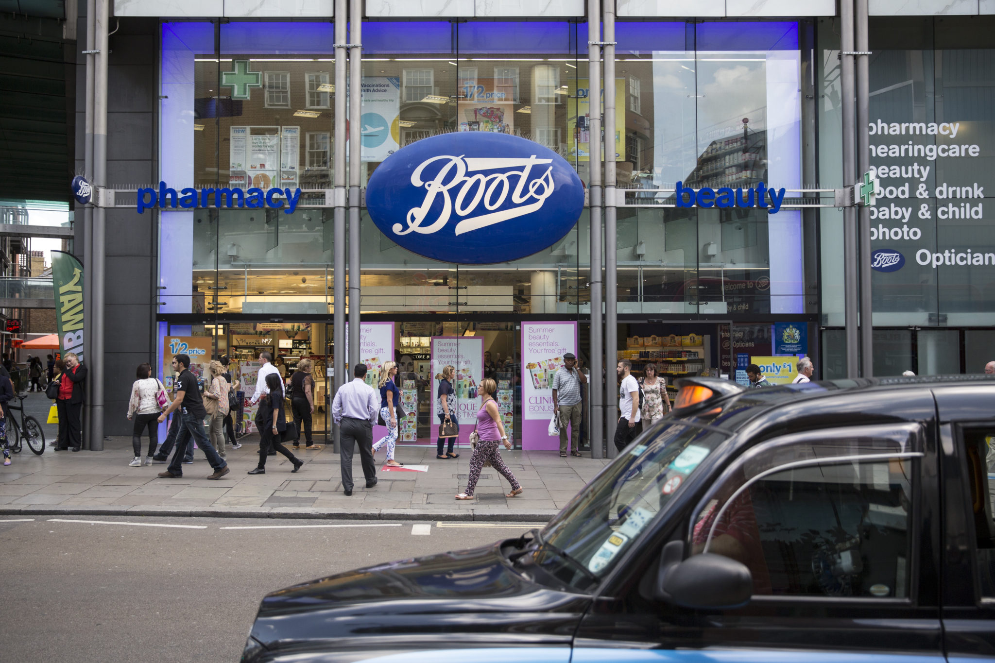 Small mobility retailers should not be afraid of walking into stores like Boots to see how they lay out their stores. (Photo by Oli Scarff/Getty Images)