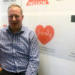 Jason Fulcher in the Innova office