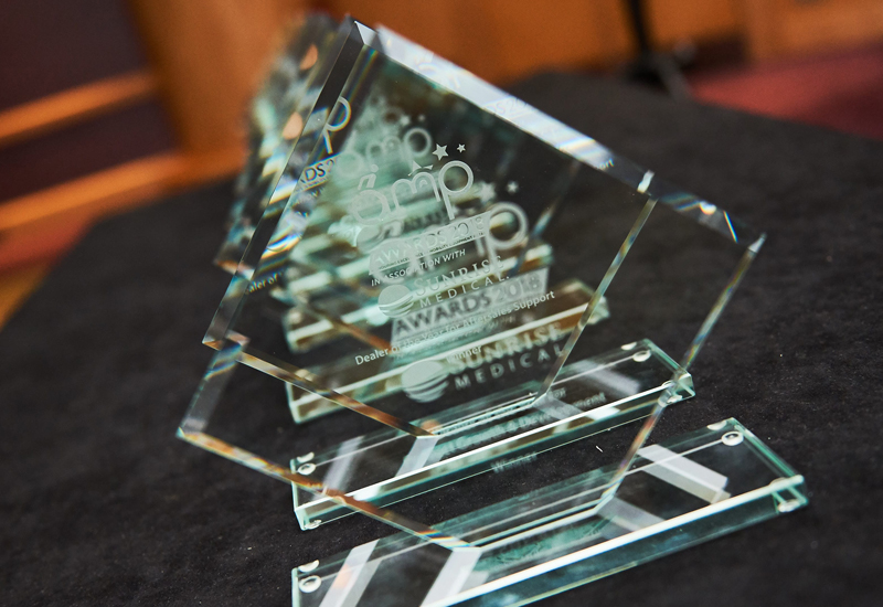 amp awards 2018 trophies