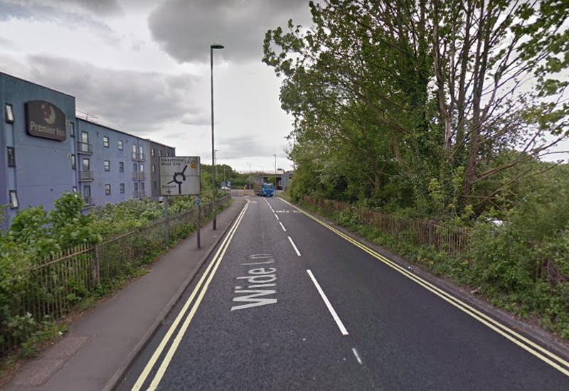 wide lane eastleigh google