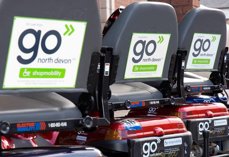 go north devon shopmobility