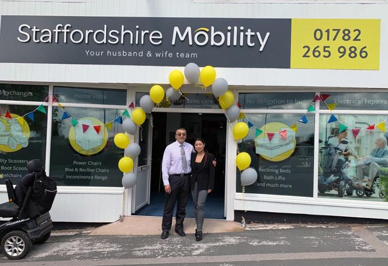 staffordshire mobility social media