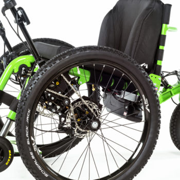 eTrike new all terrain wheelchair from Mountain Trike
