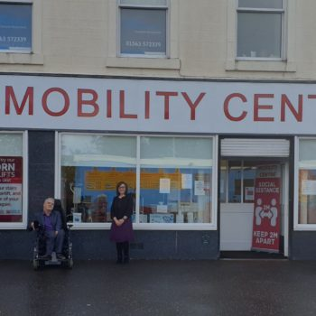 Mobility Centre Outside