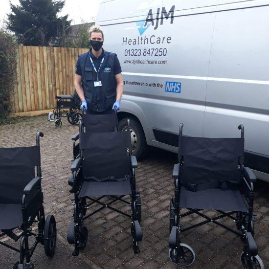 AJM Healthcare wheelchairs