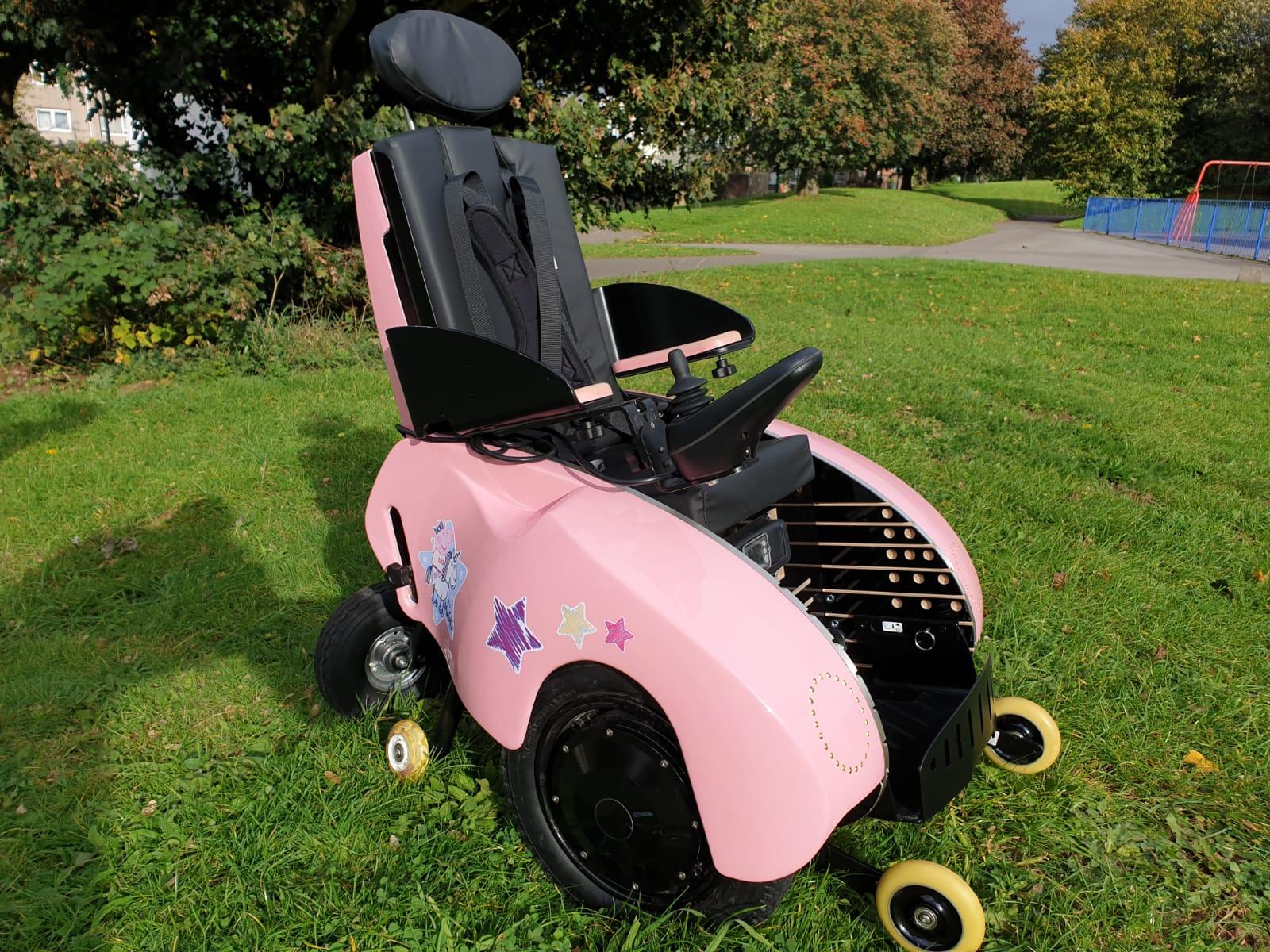 Peppa Pig wheelchair