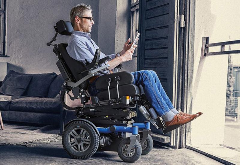 Dietz-Power Sango powered wheelchair