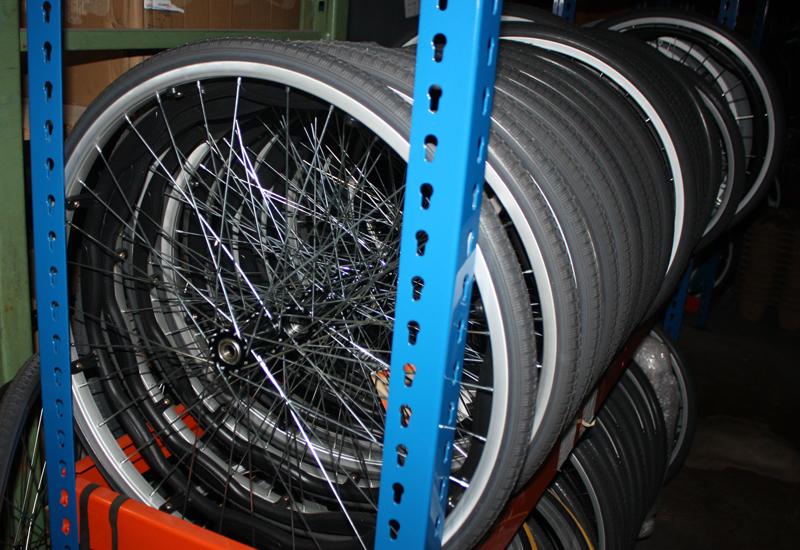 Wheelchair parts