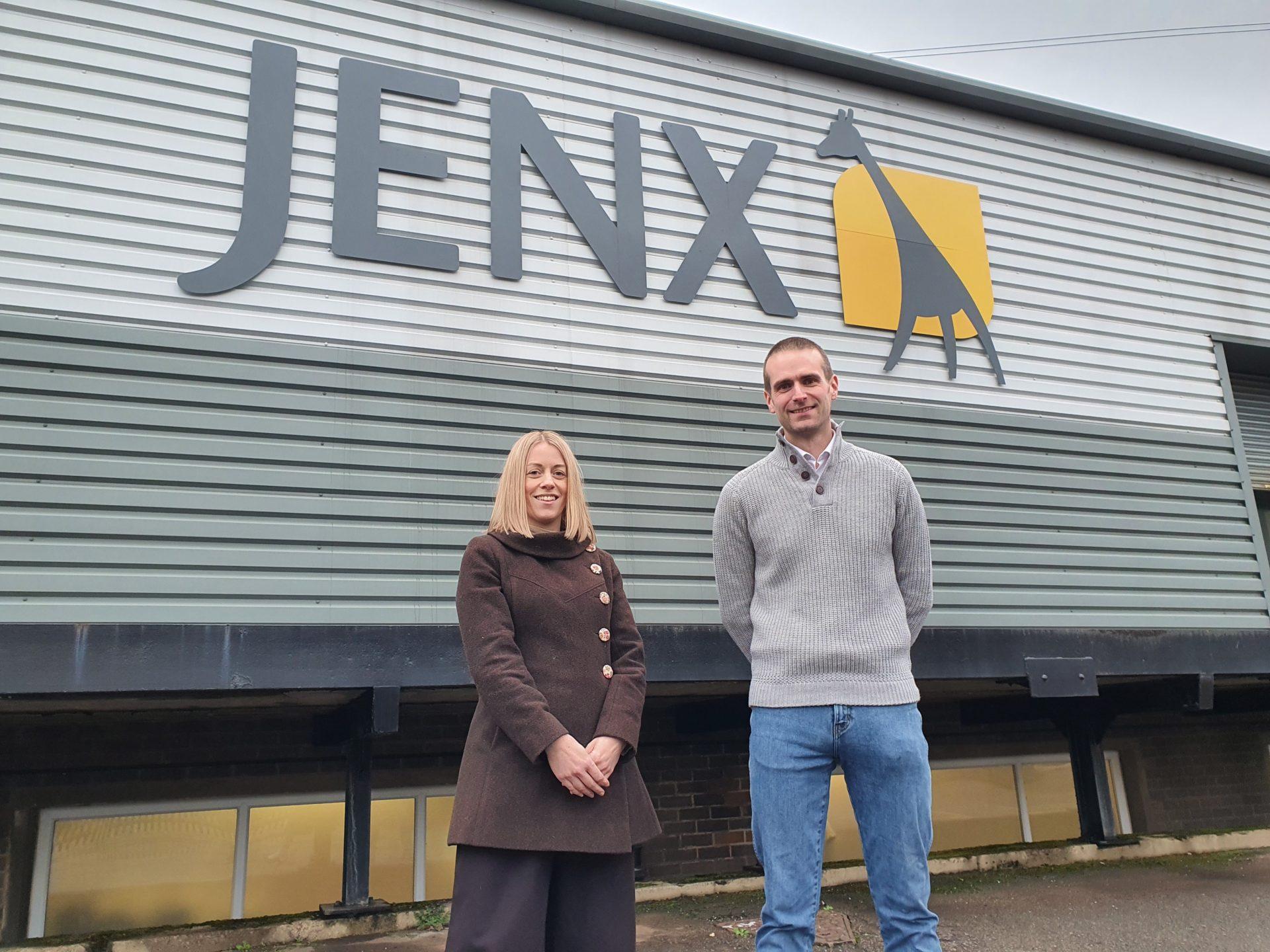 Holly Jenkins and Dan Limb