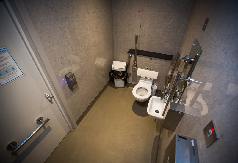 EasyAccessibility toilet facility at The Bowgie