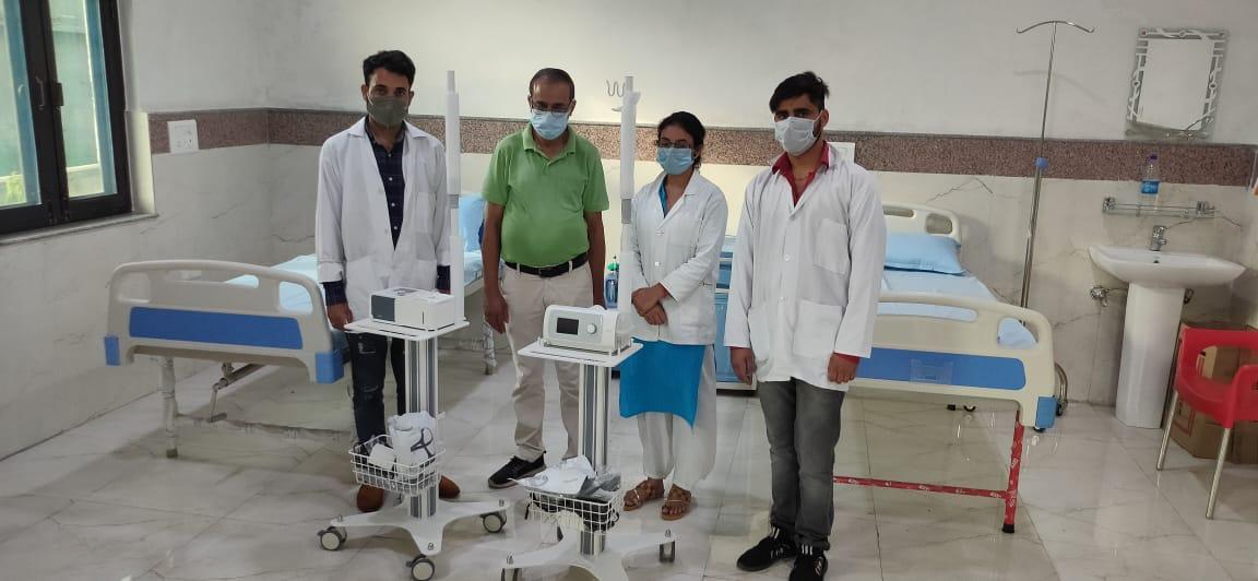 AKW Donates Respiratory Equipment to Help India (AKW305)