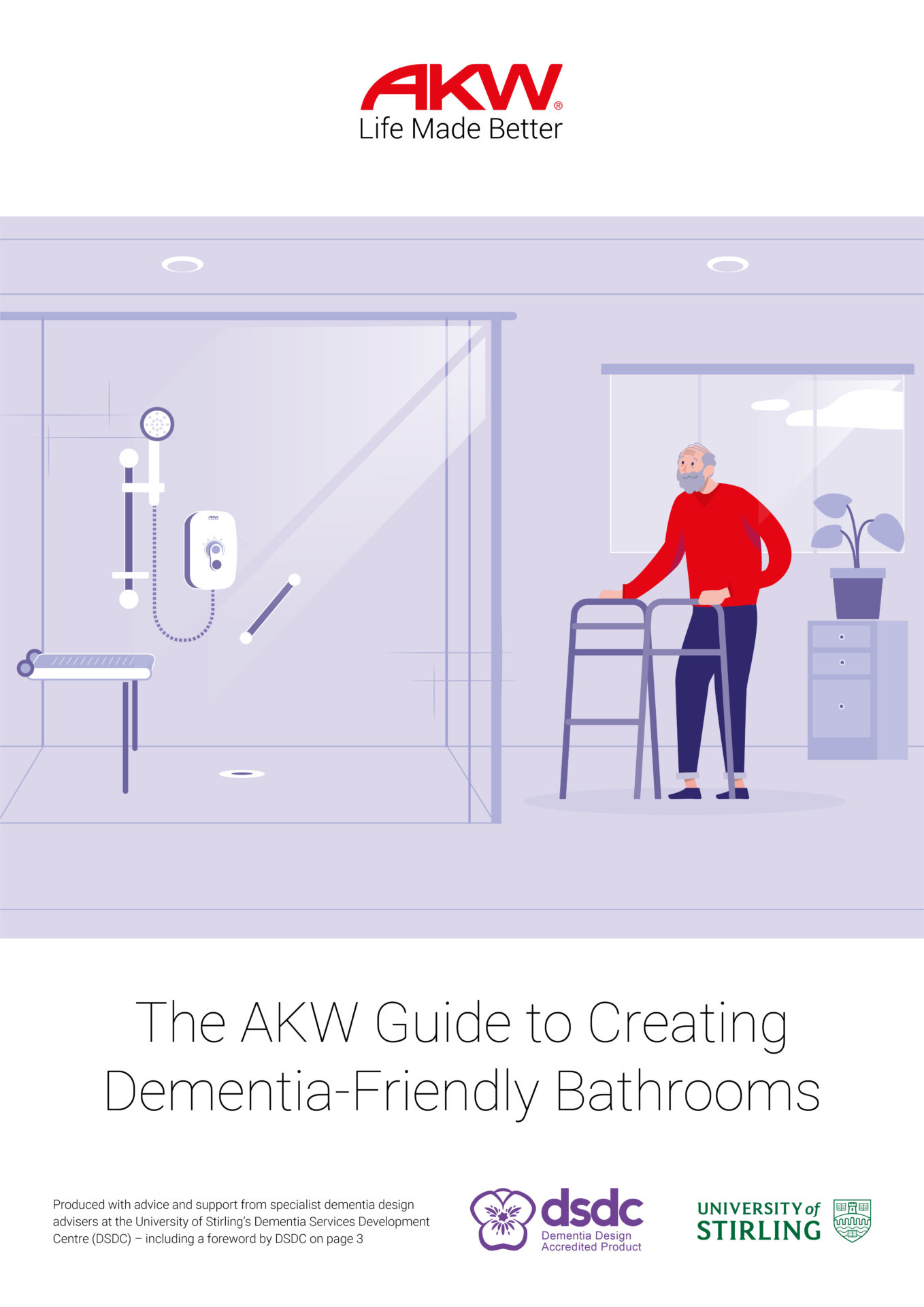 AKW-Dementia Guide-Front Cover Image