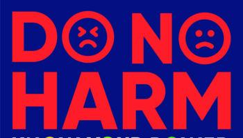 Do No Harm CMYK Portrait Blue BG